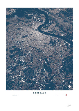 Bordeaux - City Map