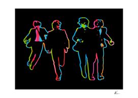Beatles | Dark | Pop Art