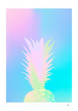 Iridescent pineapple