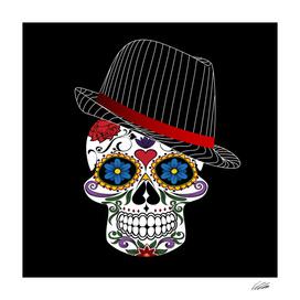 Hipster Freaky Skull