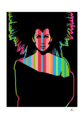 Cher   Dark   Pop Art