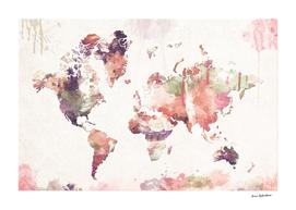 Old Memories World Map
