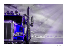 Road Stories Peterbilt truck