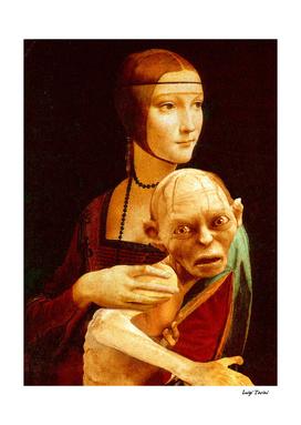 Lady with Gollum
