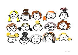 Sister hood - women internacional day