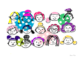 Sister hood - women internacional day color