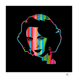 Elizabeth Taylor | Dark | Pop Art