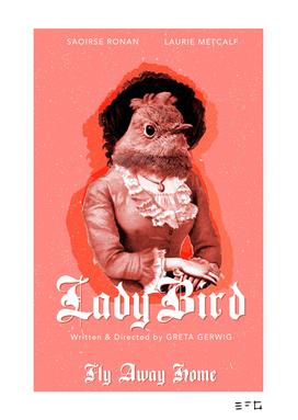Lady Bird -- Movie Fan Art Poster