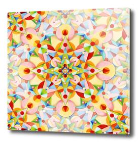 Pastel Carousel Mandala
