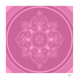 Mandala Violet