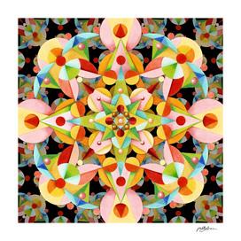 Kaleidoscope Fiesta Mandala