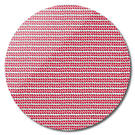 Strawberry Stripes Pattern - FullH/WHITE
