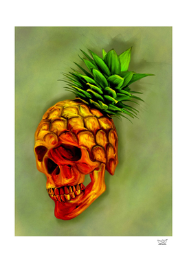 Pineapple Skull