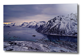 Landscape of Lofoten islands