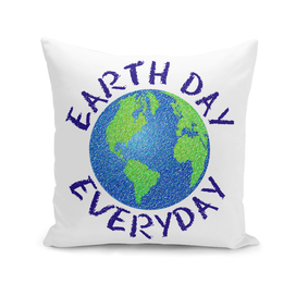 Colorful Earth Day Everyday Primative