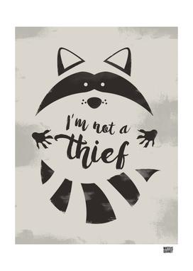 I'm not a thief