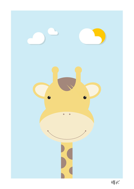 Giraffe • Colorful Illustration