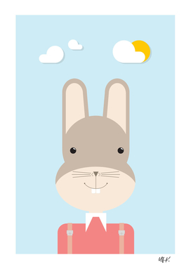 Bunny • Colorful Illustration