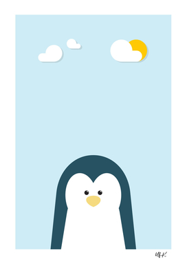 Penguin • Colorful Illustration