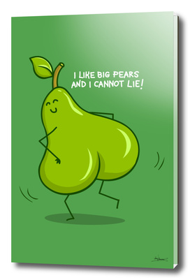 One sASSy pear