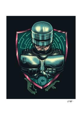 Cyberpunk Robocop