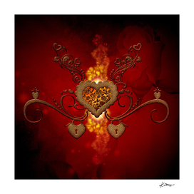 Wonderful steampunk heart