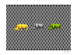 3 Rhinos