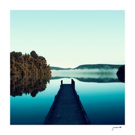 Gloomy dock