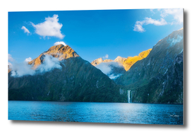 Milford Sound wild beauty, New Zealand
