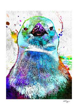 Penguin Grunge