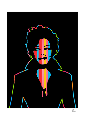Janet Jackson | Dark | Pop Art