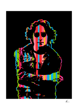 John Lennon | Dark | Pop Art