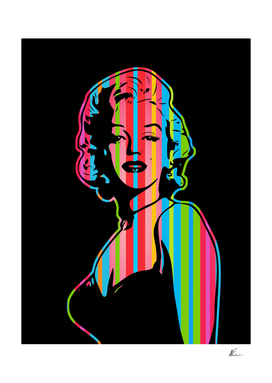 Marilyn Monroe | Dark | Pop Art