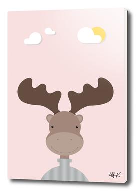Elk • Colorful Illustration