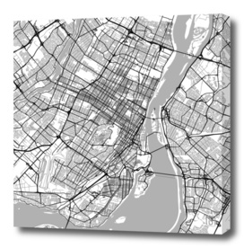 Montreal Traffic (white)