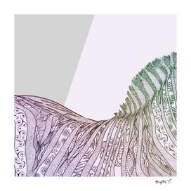 Colorful Boho Mandala Zebra Design