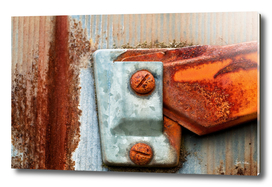 Rust on a Mailbox