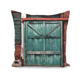 Faded Wooden Loading Door