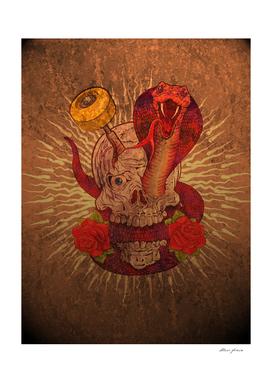 Skull, Snake & Skate