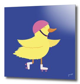 Duck on Roller Skates