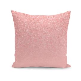 Rose Gold Glitter Cascade