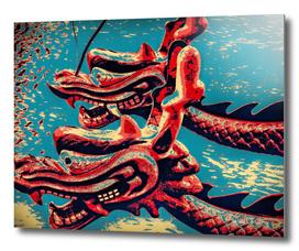 Dragon Boats - Pop Art Style