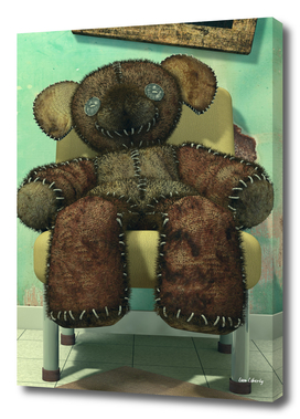 The Old and Neglected Teddy Bear