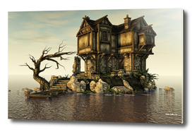 The Old House on The Sea