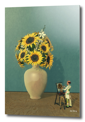 Painting Sunflowers