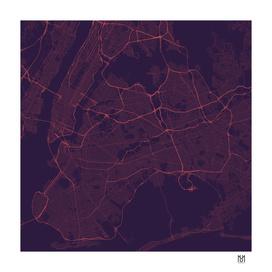 New York Night Traffic