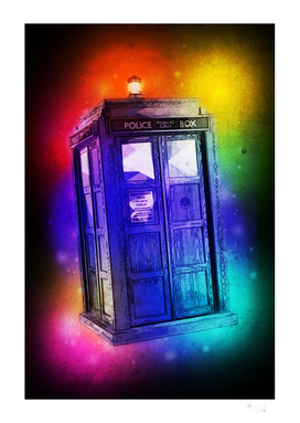 SPACE PHONE BOOTH
