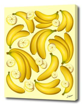 Banana Fruity Pattern