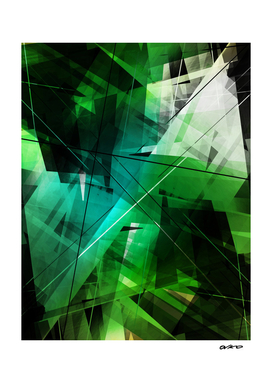 Jungle - Geometric Abstract Art