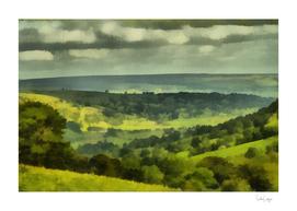 15. Bishopdale. Realism Painting